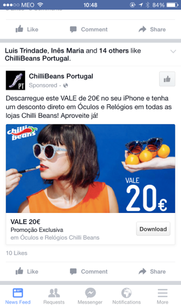 Passworks - Chillibeans Facebook Ad 26 Aug
