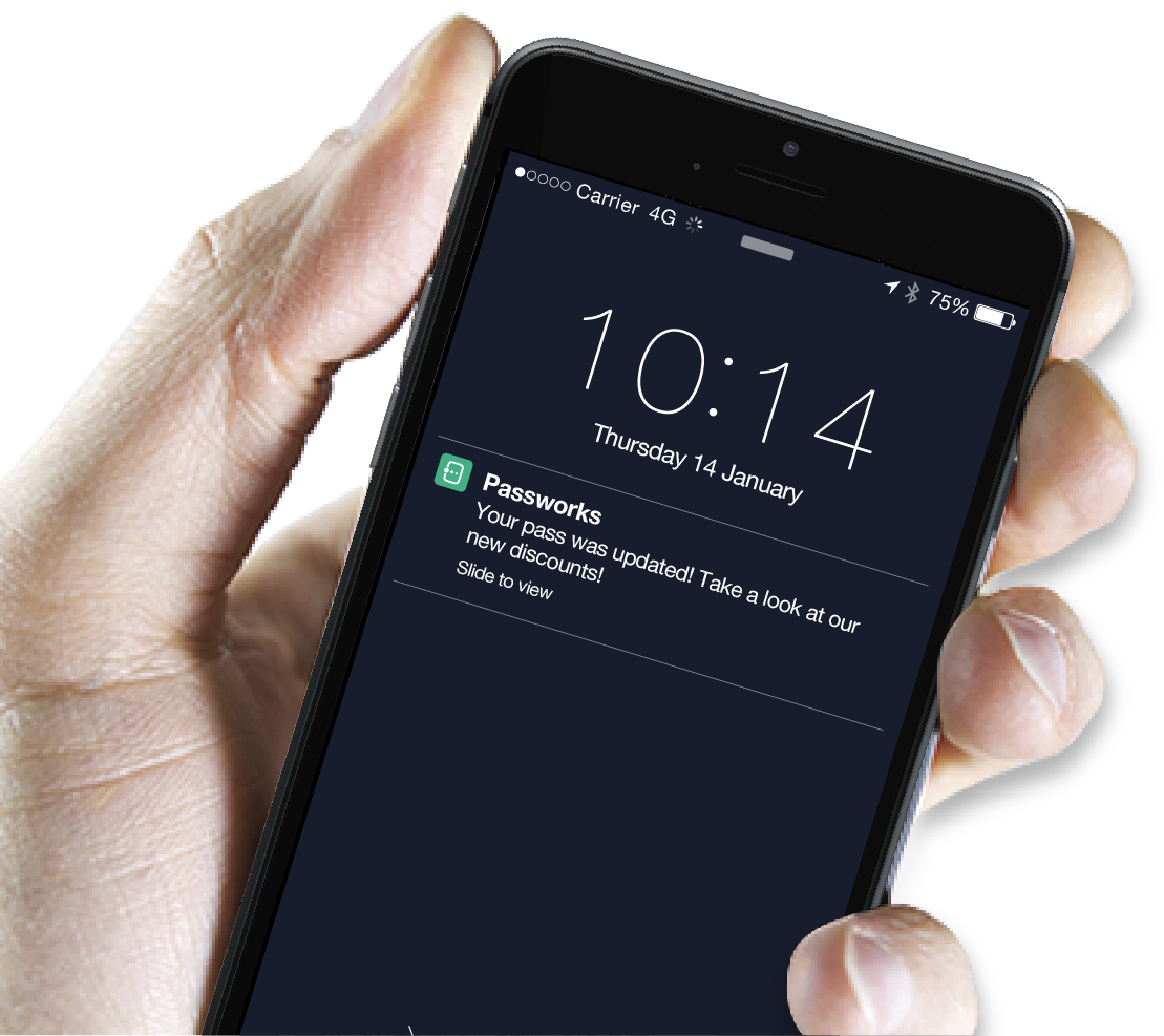 Passworks Push Notification