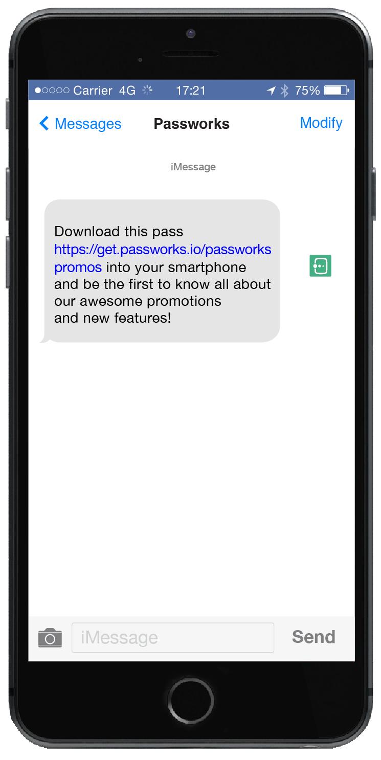 Passworks Platform_SMS