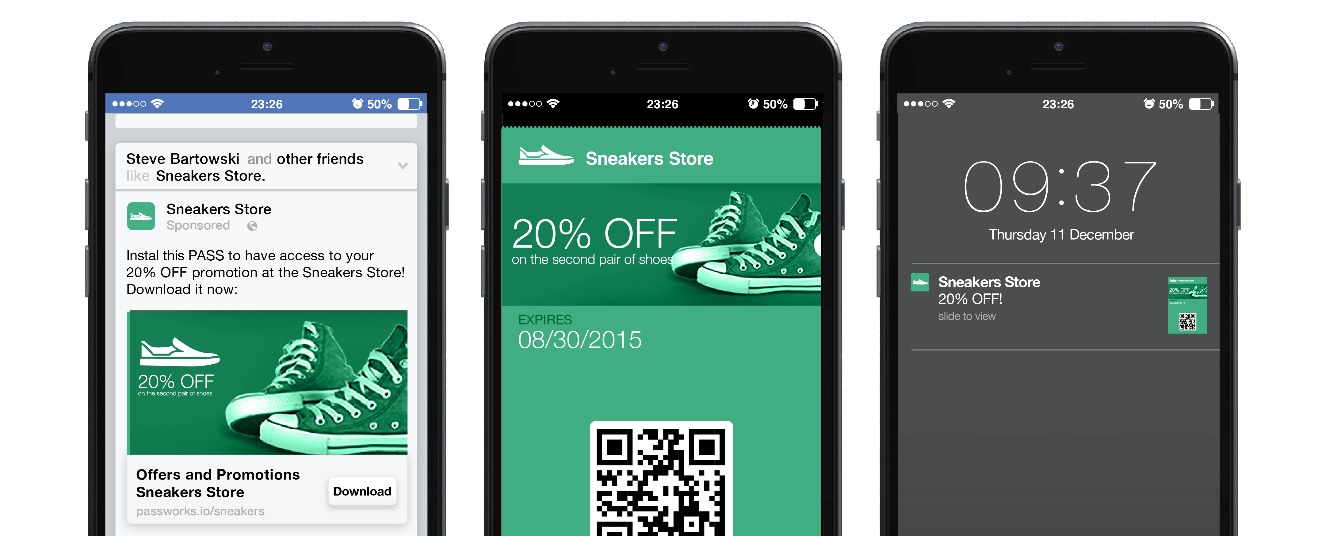How social media can boost a Mobile Marketing campaign using Passbook